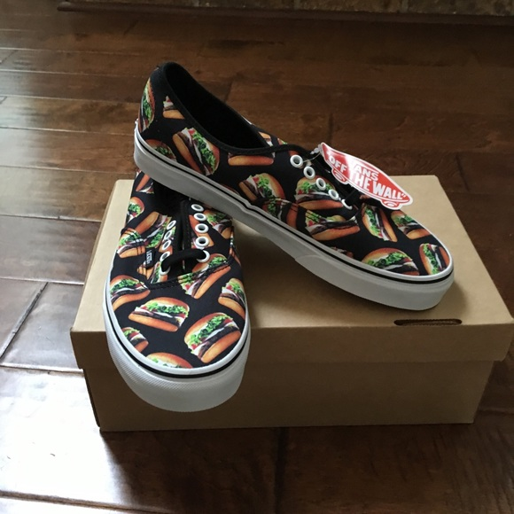 f1e9639e9f Vans Authentic (Late Night) Black  Hamburger. M 5a6263ae45b30c74d5389dd7